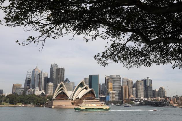 L'opéra de Sydney, en mai 2018.
