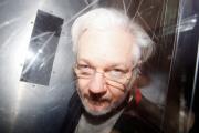 Julian Assange à Londres, le 13 janvier.