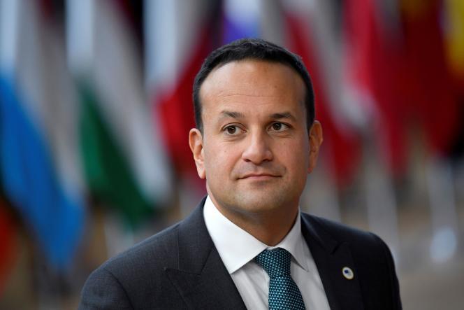 Le premier ministre irlandais, Leo Varadkar, le 17 octobre2019.