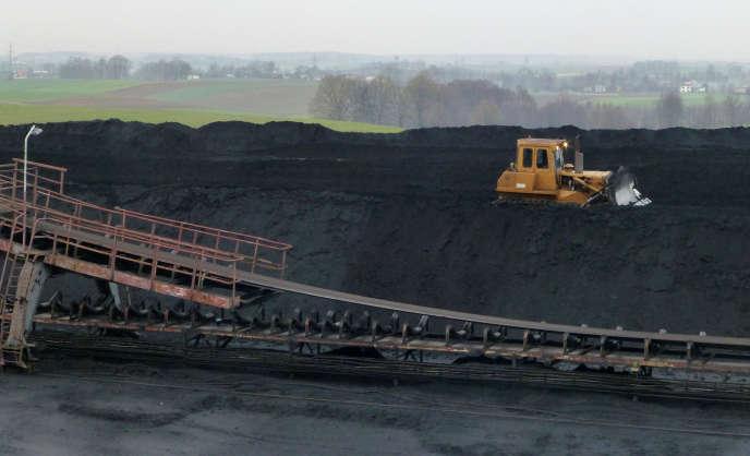 Une mine de charbon à Pawlowice (Pologne), en décembre 2018.