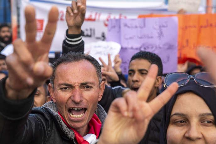 La Tunisie a célébré le 14 janvier le neuvième anniversaire de la chute de l'ancien dictateur Zine El Abidine Ben Ali dans une atmosphère morose sur le plan économique.