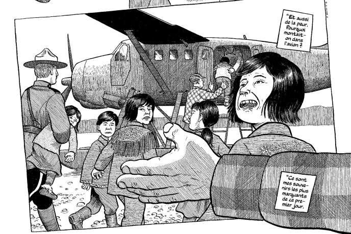 Extrait de « Payer la terre », de Joe Sacco.