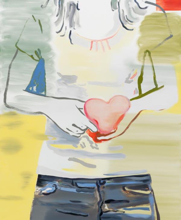 Françoise Pétrovitch, «Sans titre», 2018. Peinture, huile sur toile.