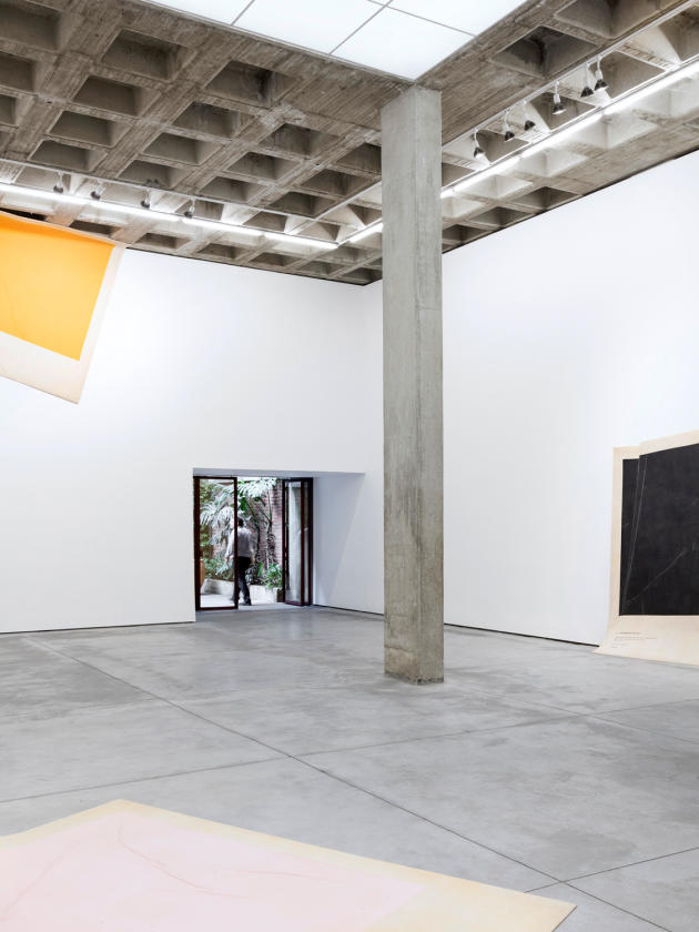 La galerie d'art contemporain OMR.