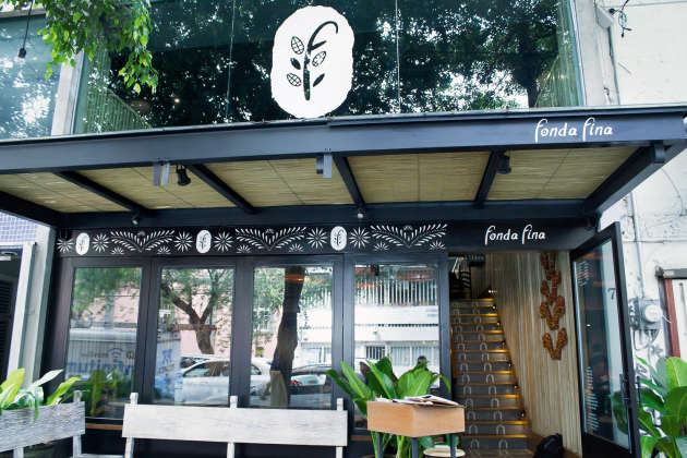 Le restaurant Fonda Fina.