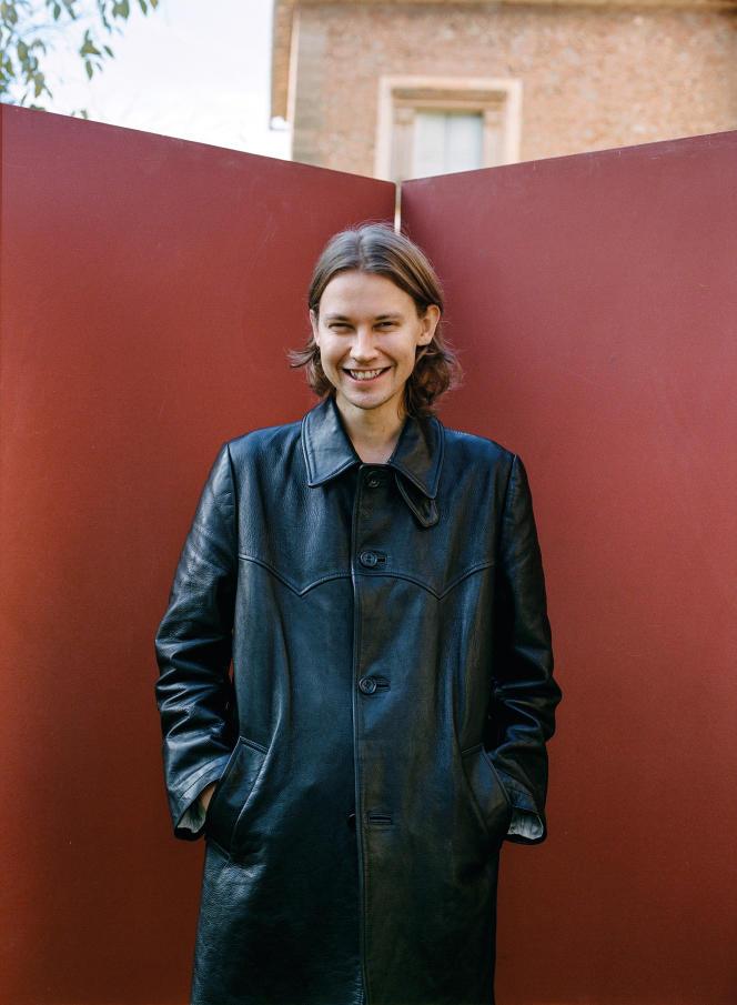 Le styliste finlandais Achilles Ion Gabriel, directeur artistique de CamperLab depuis juin 2019.