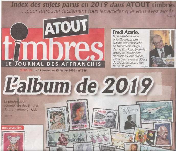 « Atout timbres », 32 pages, 2,20 euros, en vente en kiosques.