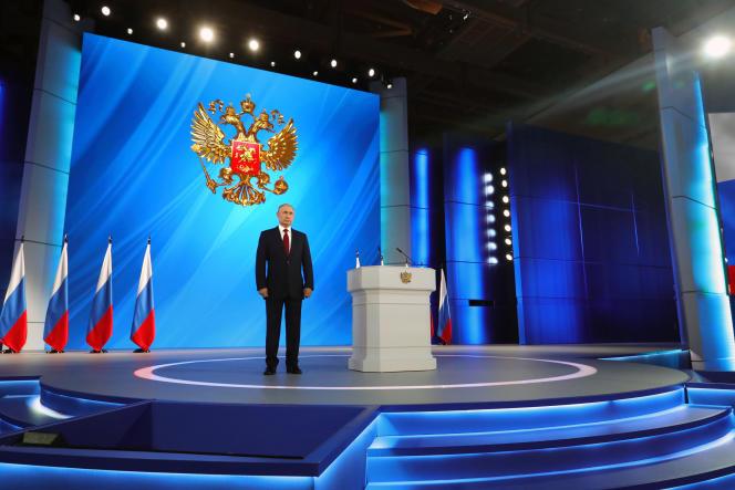 Vladimir Poutine à Moscou, le 15 janvier.