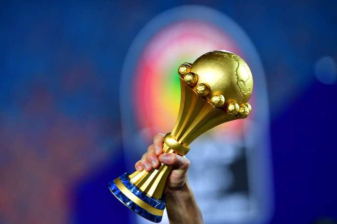 Le trophée de la Coupe d'Afrique des nations de football.