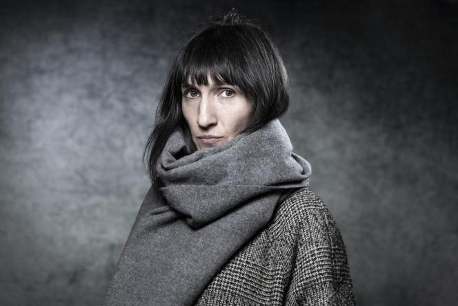 Catherine Meurisse lors de la 46e édition du Festival international de la bande dessinée d'Angoulême, le 27 janvier 2019.