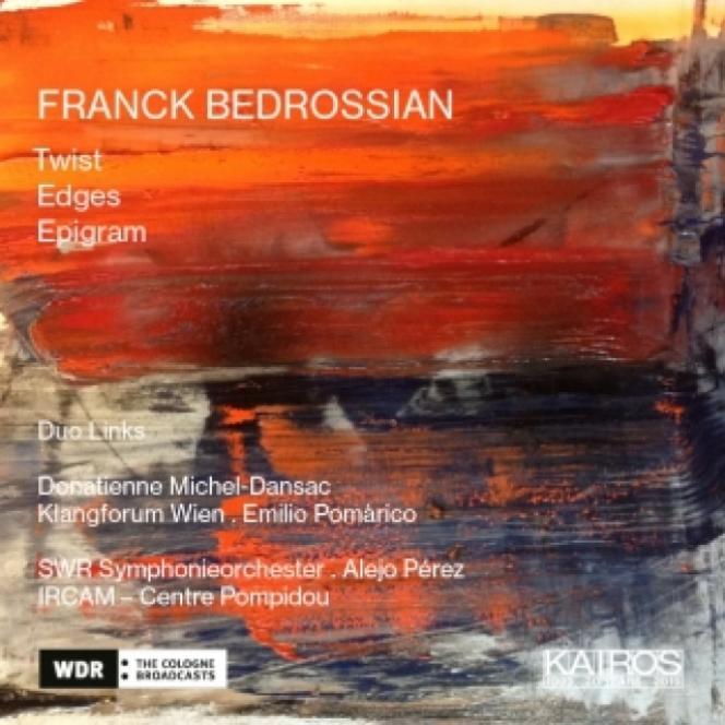 Pochette de l'album consacré au compositeurFranck Bedrossian.