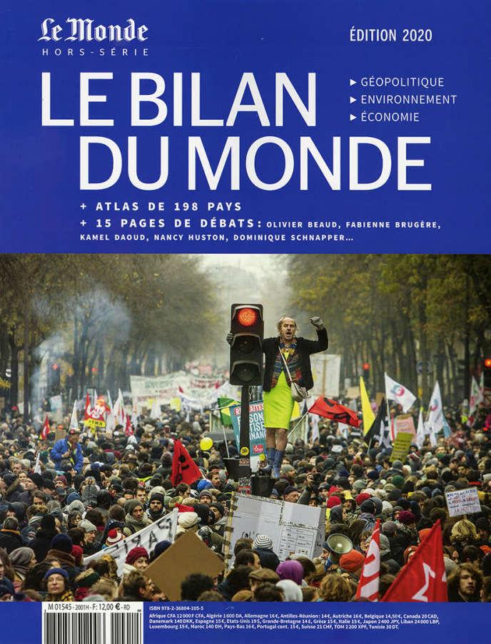 «Le Bilan du monde 2020. Géopolitique, environnement, économie», 218 pages, 12euros.