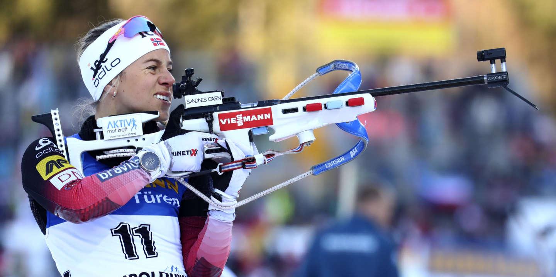 Championnats du monde de biathlon : Tiril Eckhoff, un ski d'enfer et la gâchette enfin sûre