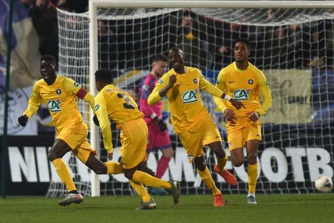 Pau s'est imposé 3-2 face à Bordeaux, jeudi 16 janvier.