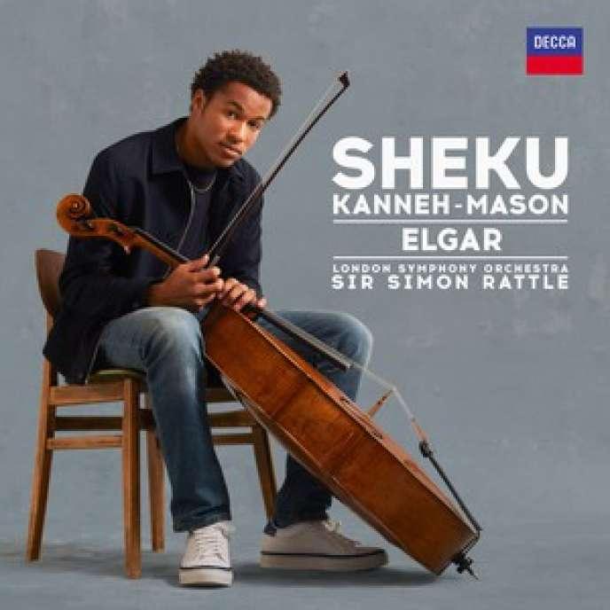Pochette de l'album du violoncellisteSheku Kanneh-Mason, avec leLondon Symphony Orchestra, sous la direction de Sir Simon Rattle.