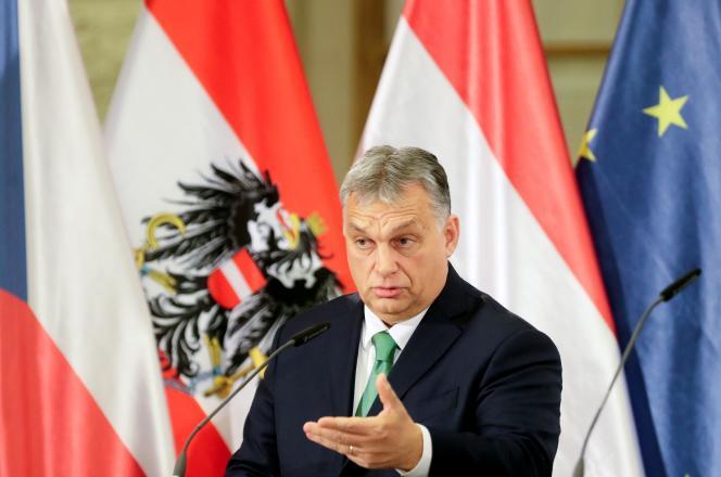 Le premier ministre hongrois, Viktor Orban, à Prague, le 16 janvier 2020.
