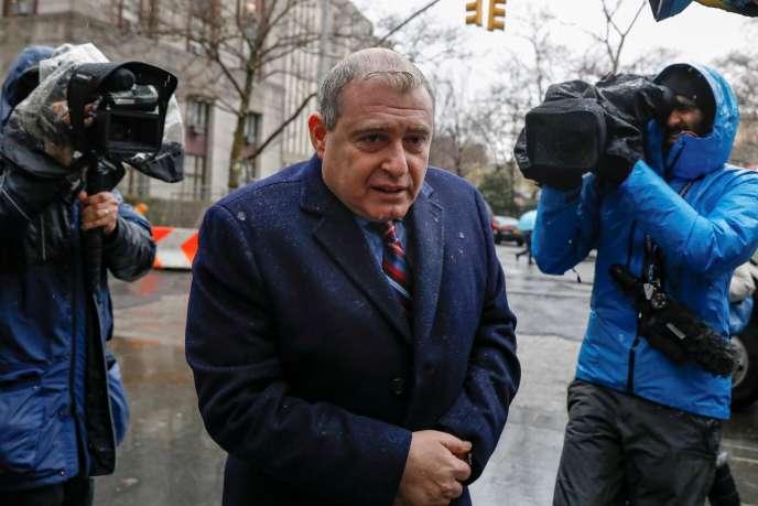 L'homme d'affaires Lev Parnas, à New York, le 17 décembre 2019.