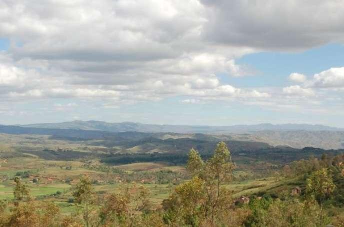 La région de l'Itasy, dans le centre de Madagascar.