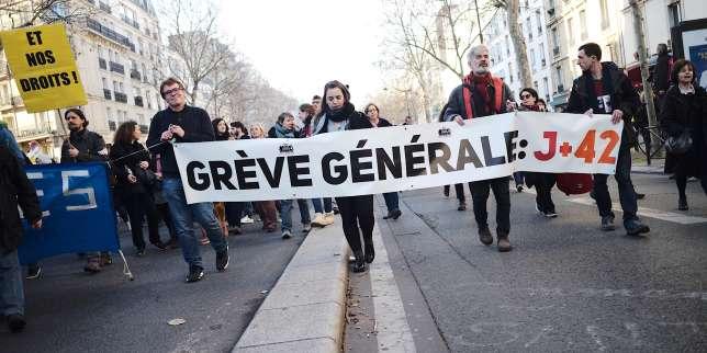 Retraites: mobilisation en baisse jeudi mais des dizaines de milliers de manifestants «déterminés»