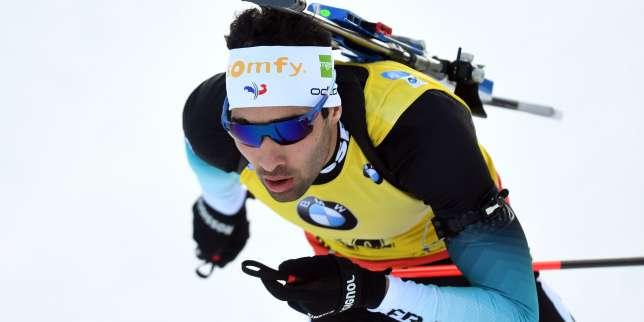 Coupe du monde de biathlon : Martin Fourcade remporte le sprint de Ruhpolding et garde la tête du général