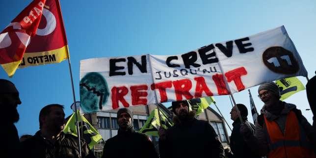 Grève du 16 janvier : des taux de grévistes en hausse à la SNCF et dans l'éducation nationale