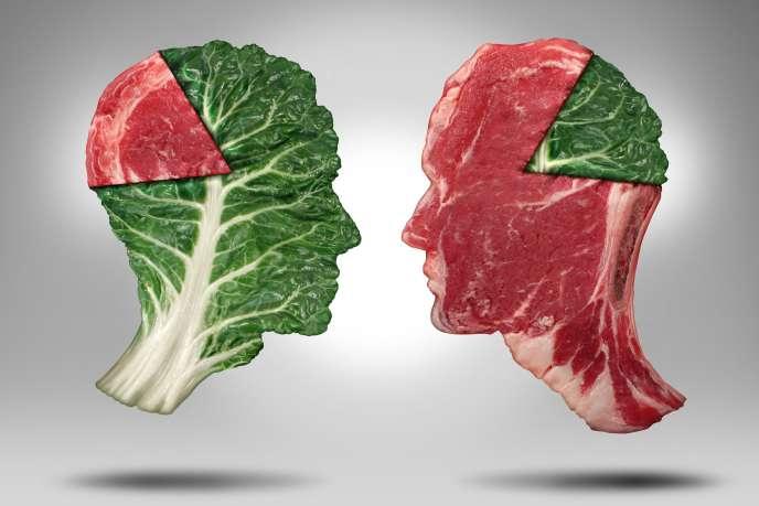 « Une attitude responsable devrait donc nous conduire à diminuer d'environ de moitié notre consommation de produits animaux pour que la part des calories animales dans nos assiettes passe de 30 % à 15 % des calories totales.»