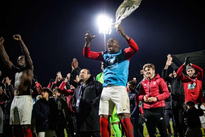 Le FC Rouen (FCR) a éliminé Metz, le 6 janvier, en 32es de finale de la Coupe de France.
