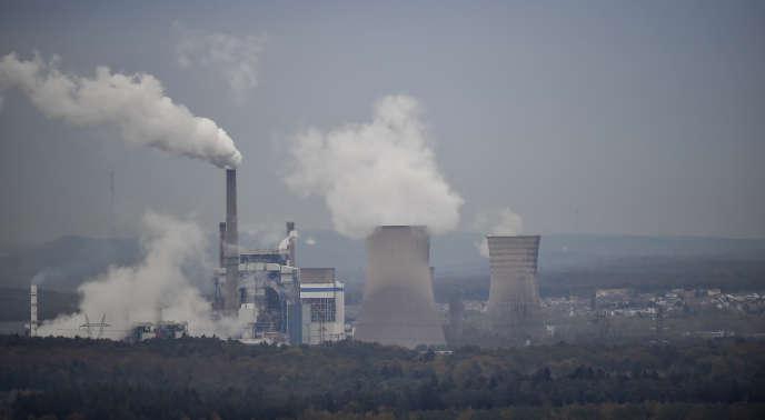 La centrale à charbon de Saint-Avold, en Moselle, le 31 octobre 2018.