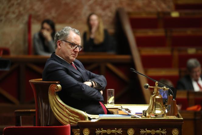 Richard Ferrand, à l'Assemblée nationale, le 14 janvier.