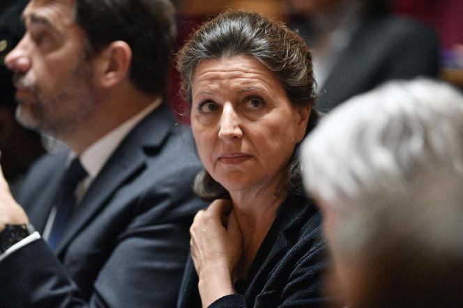 Agnès Buzyn, au Sénat, à Paris, le 8 janvier.
