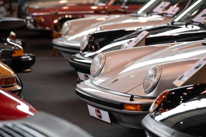 Des Porsche 911.