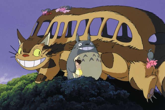 Un extrait du film d'animation « Mon voisin Totoro ».