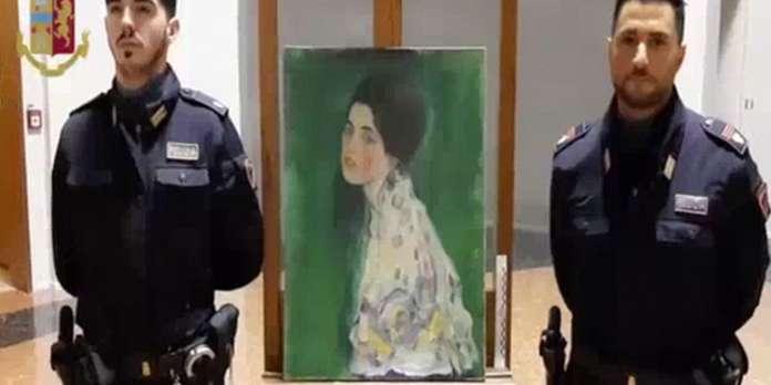 Un tableau retrouvé en Italie est bien le « Portrait d'une dame » de Klimt, volé en 1997