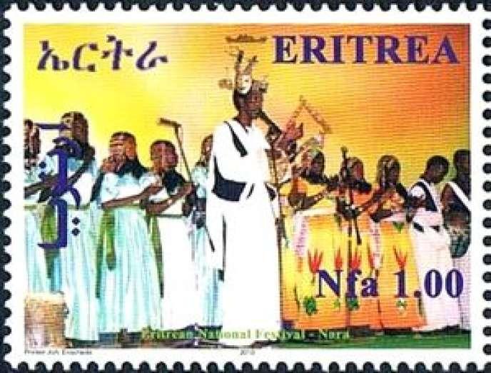 Timbre d'Erythrée.