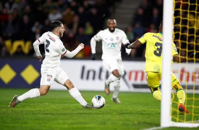 The performance of young Lyonnais Rayan Cherki, 16, two goals and two assists, did not go unnoticed during the qualification of OL in Nantes, Saturday, January 18.
