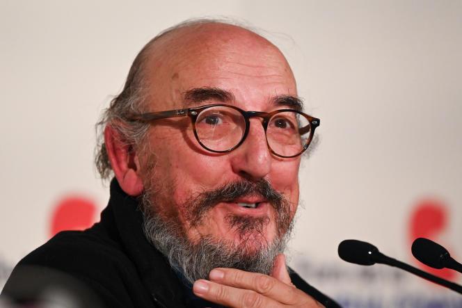 Jaume Roures, le fondateur du groupe audiovisuel espagnol Mediapro, lors d'une conférence de presse à Madrid, le 11 avril 2019.