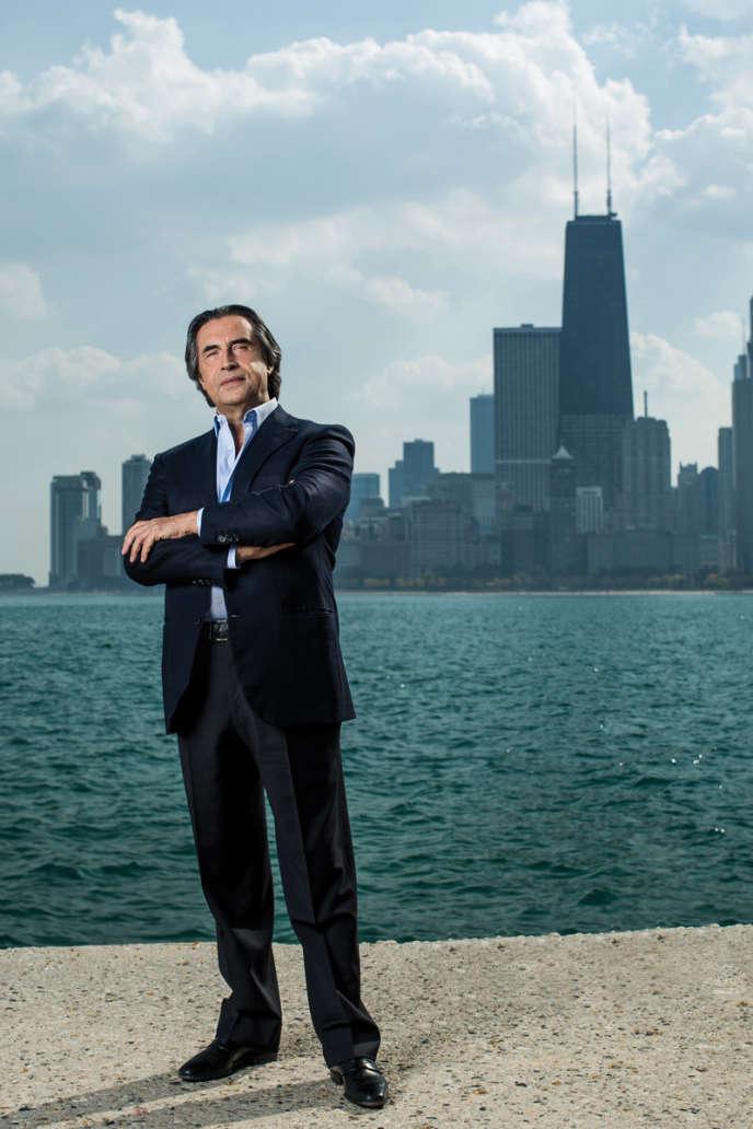Riccardo Muti,directeur musical duhicago Symphony Orchestra.