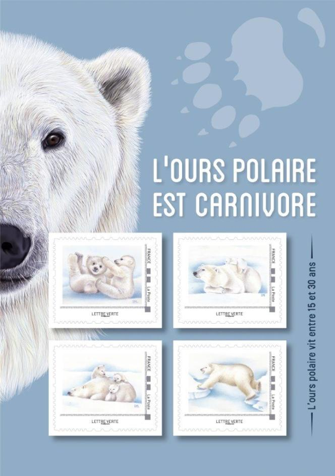 Collector« Ours polaire», Isabelle Molinard, Arobace, d'après photos.