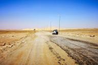 Près de la ville libyenne de Ghadames, à la frontière de l'Algérie et de la Tunisie.