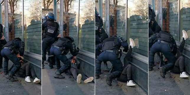 Le point sur l'affaire du manifestant frappé au sol à Paris : une enquête interne, trois plaintes de policiers