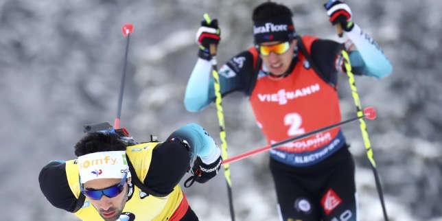 Championnats du monde de biathlon : Fillon Maillet et Fourcade 2e et 3e du sprint