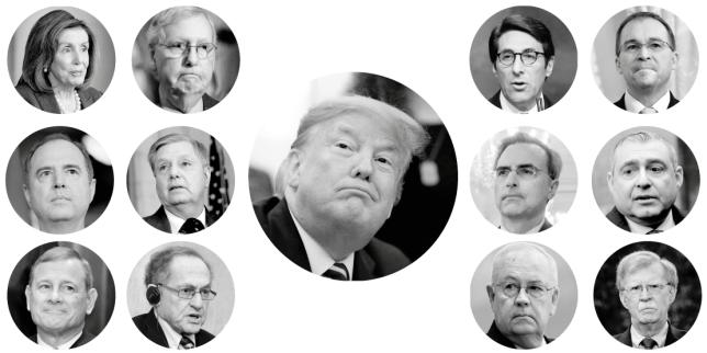 Qui sont les protagonistes de la procédure de mise en accusation de Donald Trump?