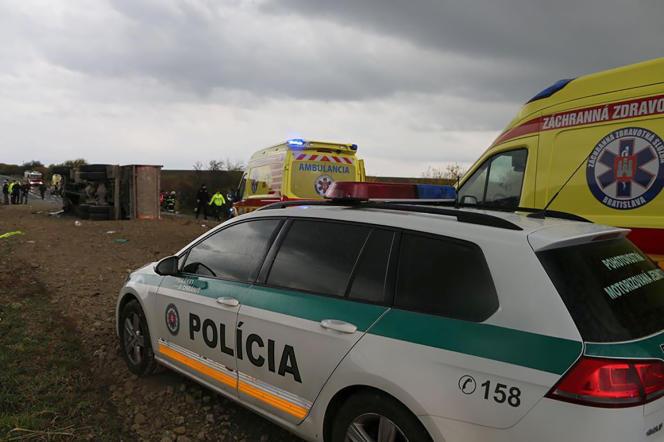 Une voiture de police en Slovaquie en novembre 2019.