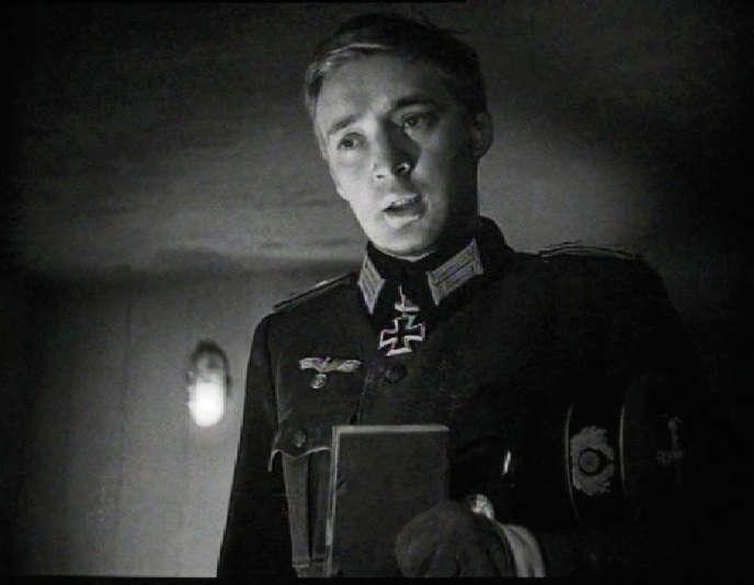 Déserteur de la Wehrmacht, l'acteur autrichien Oskar Werner interprète un capitaine allemand dans «La Fin d'Hitler» .