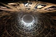 Une salle du musée d'histoire de l'Holocauste au Yad Vashem World Holocaust Remembrance Center à Jérusalem (Israël), le 15 janvier 2020.