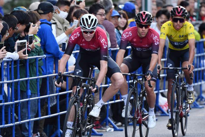 L'aimable apparition de Christopher Froome au Critérium de Saitama, le27octobre2019, n'avait pas suffi à juger de l'état de forme de l'Anglais, cinq mois après sa grave chute sur le Critérium du Dauphiné.