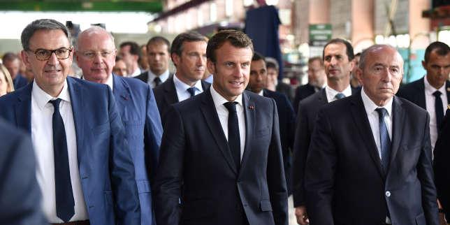 Campagne d'Emmanuel Macron à Lyon: l'affaire du financement classée sans suite