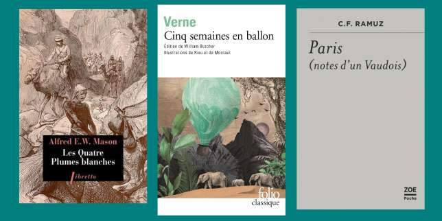 Alfred Mason, Jules Verne, C.F.Ramuz: la chronique «poches» de Mathias Enard