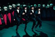 Le 11 janvier, la cérémonie desvœux du maire d'Auray seconcluait par un spectacle de la Kevrenn Alré.