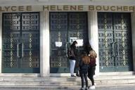 Le lycée Hélène-Boucher, à Paris.
